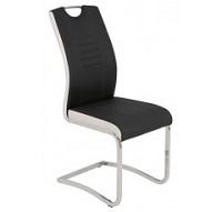 Kovová jídelní židle TABEA 910/834 černá
