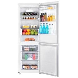 Kombinovaná volně stojící lednice s mrazákem Samsung RB30J3215WW