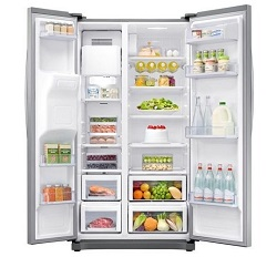 Velmi elegantní americká lednice Samsung RS50N3413SA