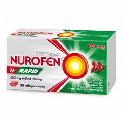 NUROFEN Rapid 400 mg 30 měkkých tobolek