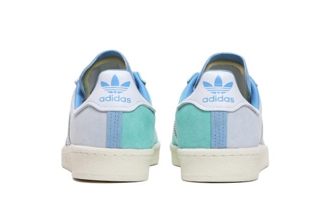 Dámské světle modré tenisky adidas Campus Halo Blue/Cloud White/Hazy Blue FY3549