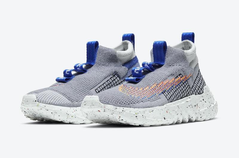 Nízké šedé boty Nike Space Hippie 02 Grey CQ3988-003