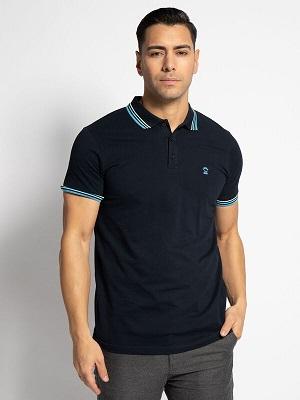 Pánská tmavě modrá polokošile LTB Pebiye Polo Shirt navy