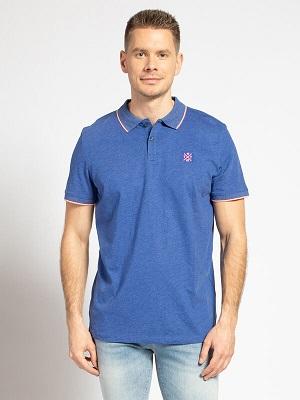 Pánské modré značkové polotriko Tom Tailor Polo Shirt royal blue