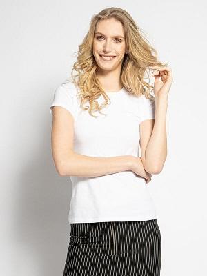 Letní dámské bílé tričko LTB T-Shirt white