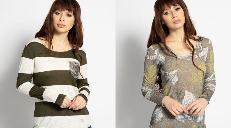 Tipy a inspirace na značková dámská trička s dlouhým rukávem