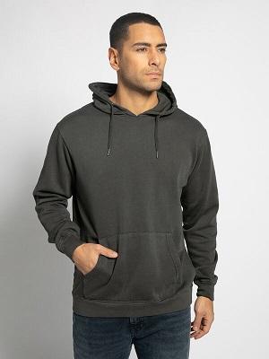 Pánská tmavě šedá mikina Soul Star Hooded Sweatshirt anthracite